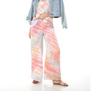 YFB Aiko Wide Leg Tie Dye Print Pants